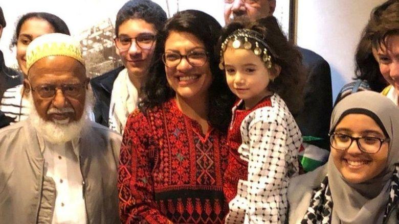 Dilantik Muslimah Anggota Dpr As Kenakan Baju Adat Palestina