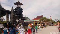 Palembang Rasa Bali Inilah Pura Swarnadwipa Yang Eksotis