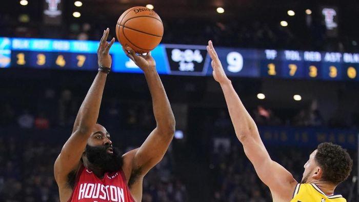 Houston Rockets kalahkan Golden State Warriors (Kyle Terada-USA TODAY Sports)