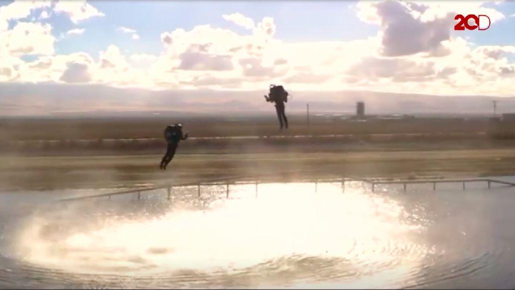 Video: Keren! Akan Ada Balap Jetpack Mirip Iron Man