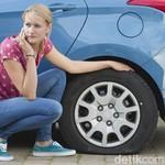 Ban Mobil Pecah di Jalan, Jangan Ngerem Dadakan Ya