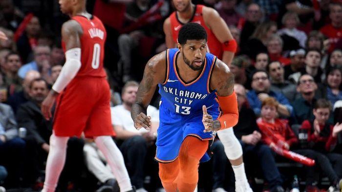 Oklahoma City Thunder menang atas Portland Trail Blazers. (Foto: Steve Dykes-USA TODAY Sports/Reuters)