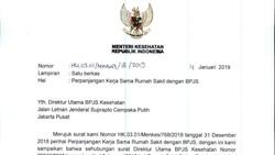 Kemenkes Rekomendasikan Perpanjang Kontrak 169 RS dengan BPJS