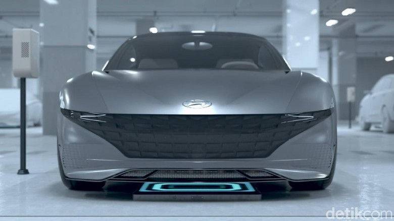 Ilustrasi wireless charging. Foto: Hyundai