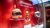 Video: Ferrari Suguhkan Mobil Schumacher di Maranello Museum