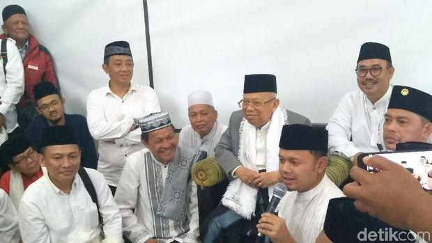 'Satu Jari' Bima Arya untuk Ma'ruf Amin