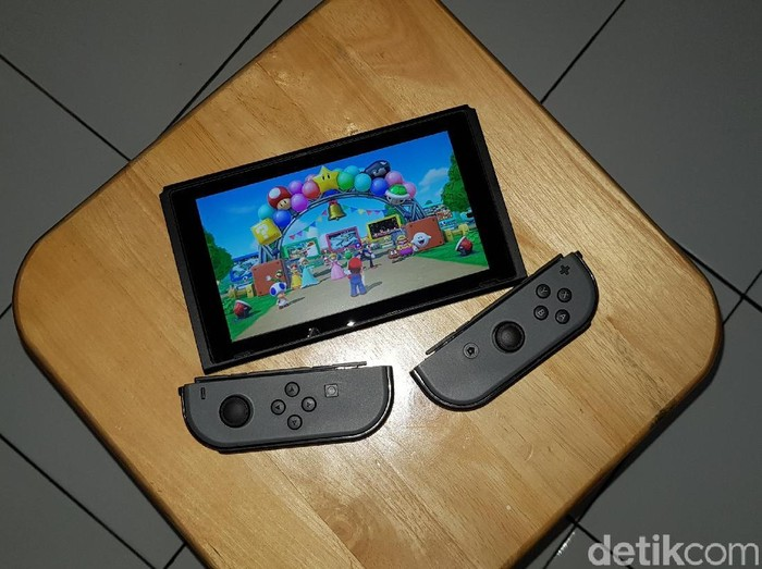 Nintendo Switch, Ilustrasi Nintendo Switch, Switch