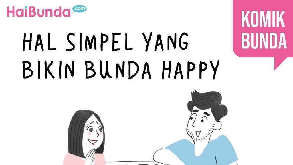 Hal Simpel yang Bikin Bunda Happy