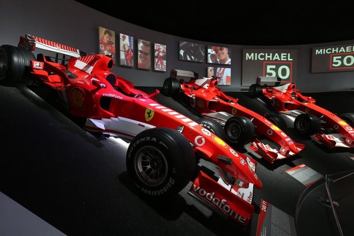 Ferrari Pamer Mobil Schumacher