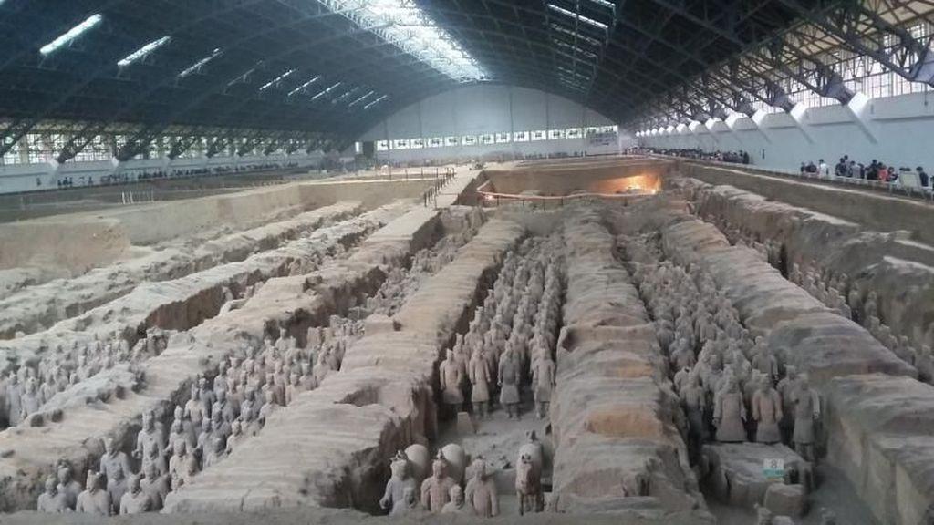 Ribuan Patung Terracota Penjaga Kota Xian