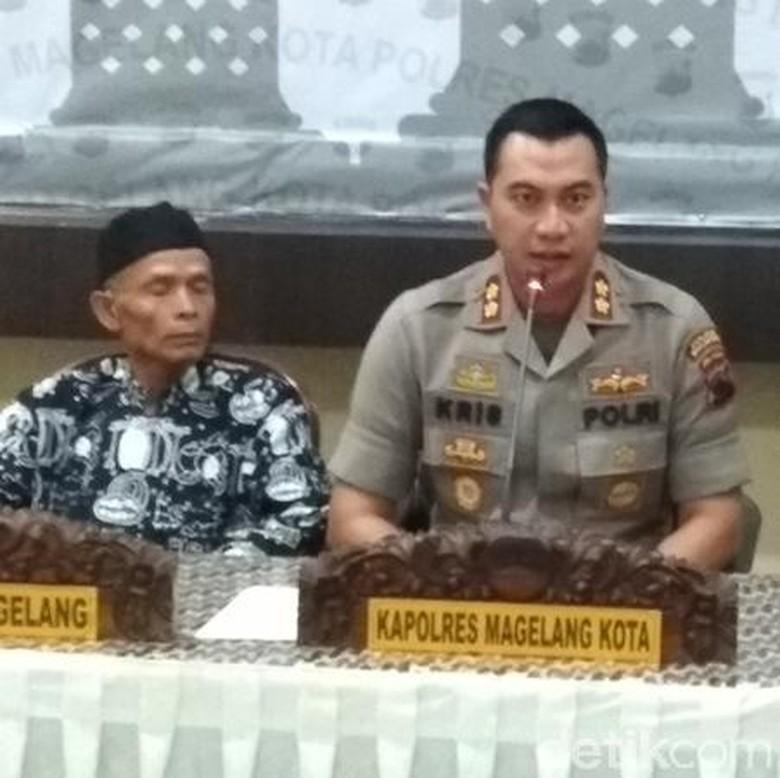 Polisi Pastikan Perusak Nisan di Magelang adalah Pelaku Tunggal