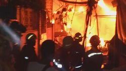 Kebakaran di Petamburan Jakbar Padam, 92 Rumah Hangus