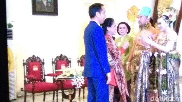 Jokowi Hadiri Resepsi Dhaup Ageng Puro Pakualaman