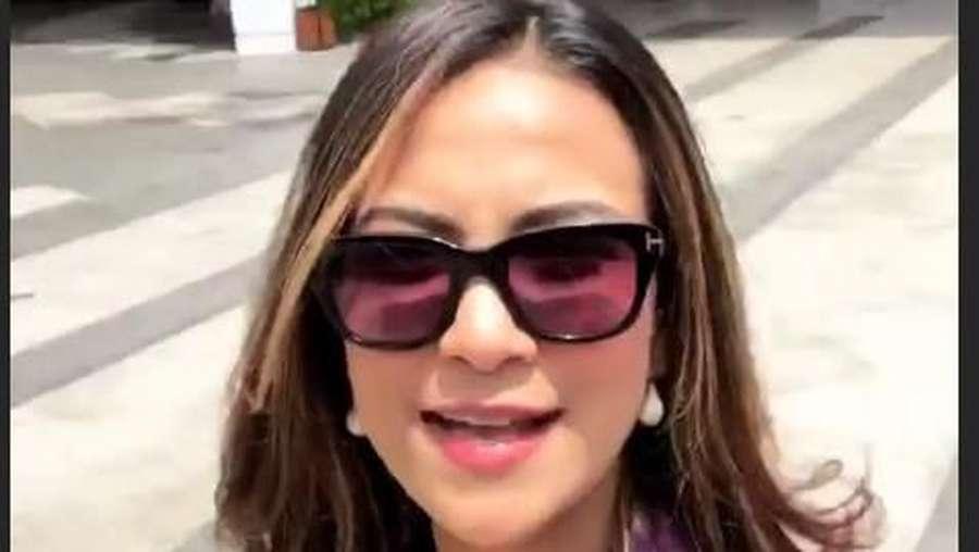 Penampakan Vanessa Angel saat Ditangkap karena Prostitusi Online
