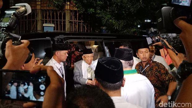 Ma'ruf Amin dan Mbah Moen Hadiri Doa Bersama Harlah ke-46 PPP