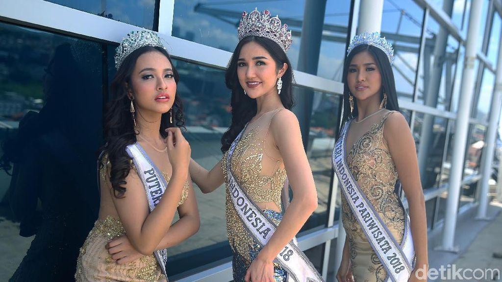 Hari Ini! Tonton DHappening Cerita 3 Juara Puteri Indonesia 2018