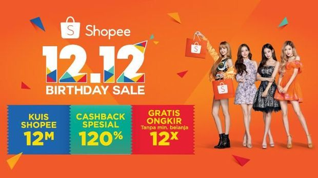 Shopee Ungguli Lazada dan Tokopedia sebagai e-Commerce Terpopuler