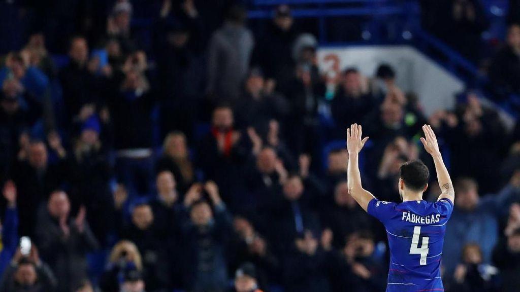 Fabregas Tinggalkan Chelsea karena Sarri dan Anaknya