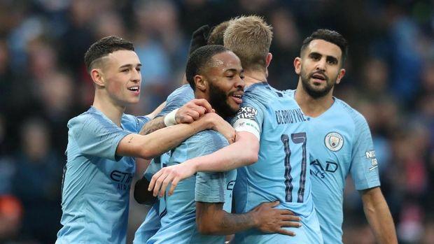 Manchester City selalu bertabur para pemain bintang usai dibeli oleh Shiekh Mansour. (