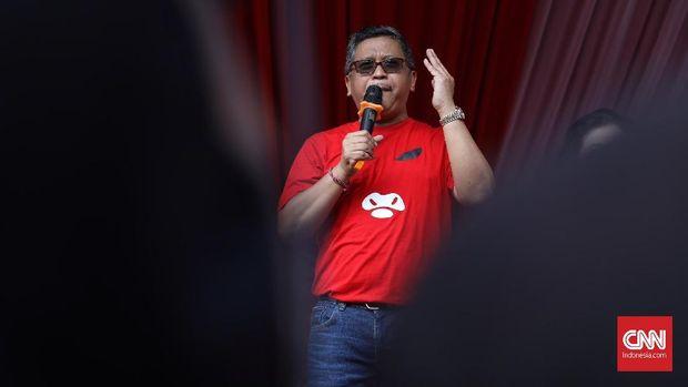 Hasto Sebut 'Nyanyian' Sudirman Said Bentuk Kekecewaan