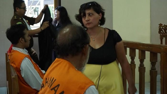 Foto: WN Inggris penampar staf Imigrasi Bali (dita/detikcom)