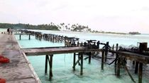 Kebakaran Hebat, Resor Mewah di Maldives Tinggal Puing-puing