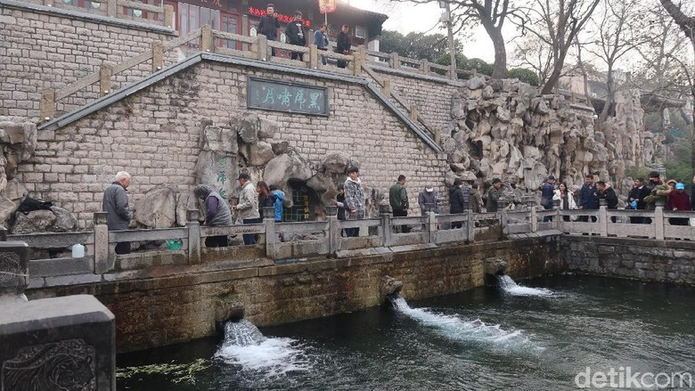 Black Tiger Spring di Jinan (Bonauli/detikTravel)