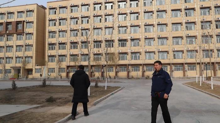 kamp Uighur di Xinjiang (Foto: Antara Foto/M. Irfan Ilmie)