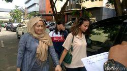 Sebelum Tinggalkan Surabaya, Vanessa Angel Pamit ke Polda Jatim
