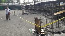 Kebakaran Puluhan Kios Dekat Titik Nol Yogya Diduga Akibat Korsleting