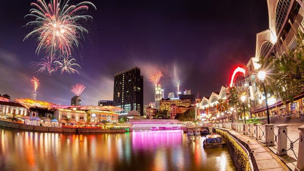 Tempat Nongkrong Muda Mudi Singapura Habiskan Pergantian Tahun