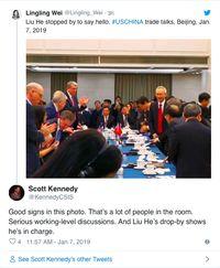 Ada Aura Positif dari Perundingan Dagang AS-China