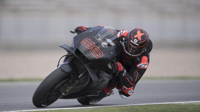 Jorge Lorenzo dengan motor Honda. (Foto: Mirco Lazzari gp/Getty Images)
