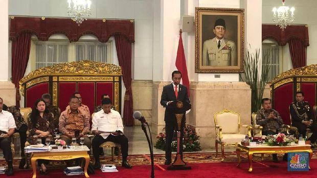 Jokowi Sebut Ekonomi 2018 Positif, Ini Buktinya