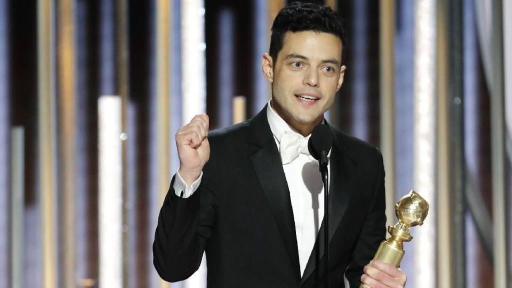 Diet dan Olahraga Intens Rami Malek yang Antar Raih Piala Aktor Terbaik