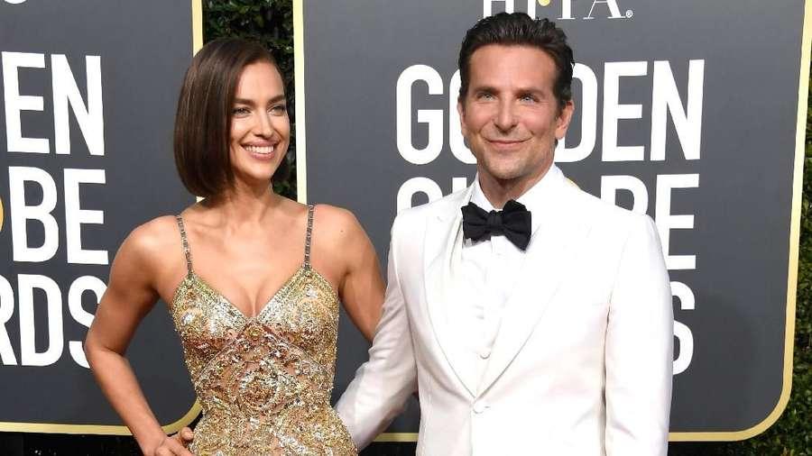 Momen Mesra Irina Shayk dan Bradley Cooper di Golden Globe 2019