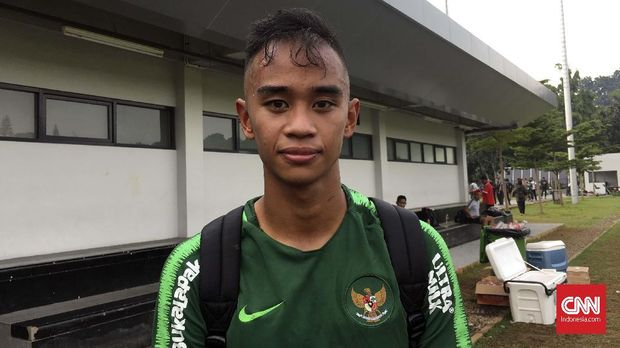 Dallen Doke masih butuh adaptasi selama pemusatan latihan Timnas Indonesia U-22.