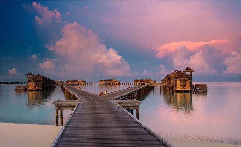 Inilah resort mewah Gili Lankanfushi di Maldives. Resort mewah ini mengalami tragedi kebakaran hebat yang terjadi pada Rabu (2/1) pekan lalu. (Instagram/@gili.lankanfushi)
