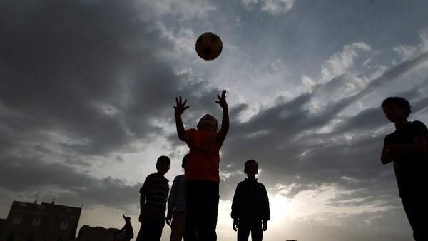 Yaman menduduki posisi ke-84, ke 4 posisi paling lemah di Dunia (Mohammed Huwais/AFP)