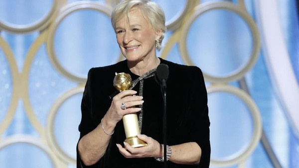 Glenn Close Kalahkan Lady Gaga di Golden Globe 2019