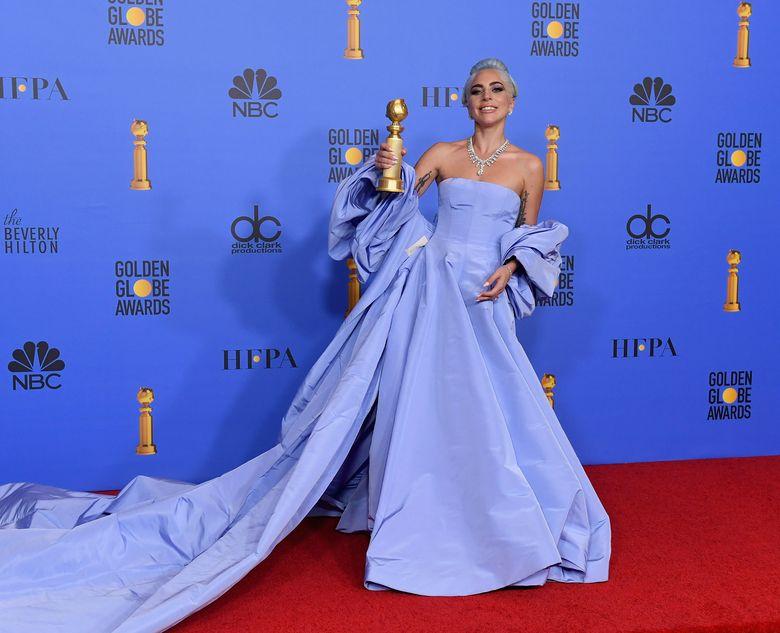 Film Star is Born berhasil membawa Lady Gaga untuk meraih piala Golden Globe di tahun ini.Kevin Winter/Getty Images