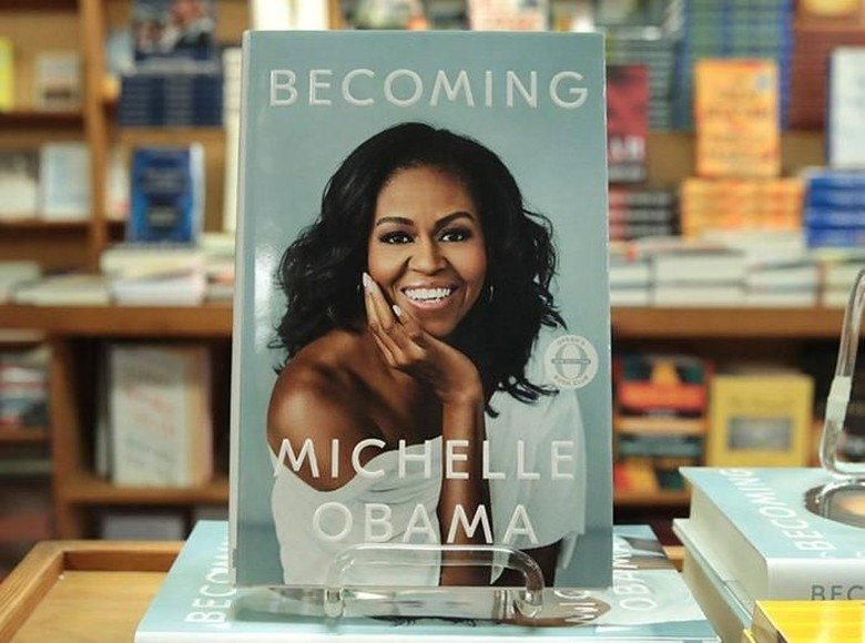 Susul Fifty Shades of Grey, Memoar Michelle Obama Jadi Nomor Satu di Amazon Foto: Istimewa