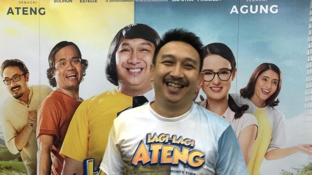 Augie Fantinus Jadi MC Bareng Reza Bukan saat Natal di Rutan Salemba