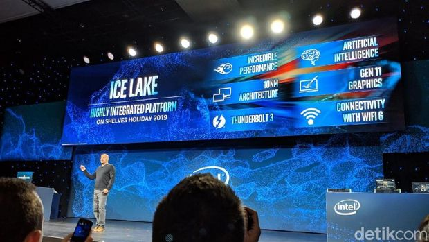 Intel Kenalkan Prosesor 'Ice Lake' dengan Pabrikasi 10nm