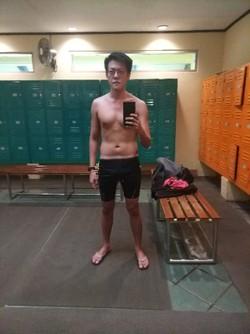 Berenang Kalah Kuat dari Orangtua Jadi Motivasi Jeffrey Untuk Hidup Sehat