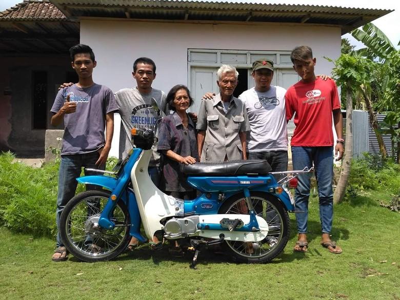 Yamaha V75 Disulap Jadi Baru Lagi. Foto: Facebook Djoko Supriyanto