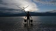 Seniman Jepang Menolak Lupa Gempa dan Tsunami Palu