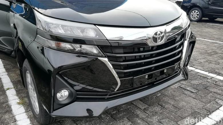 Avanza model 2019 terlihat diparkir di sebuah diler di Jakarta (Foto: Rizki Pratama)