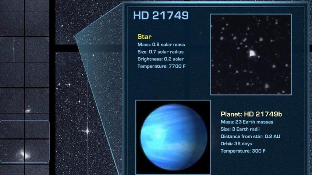 TESS si Pencari Planet Sukses Temukan Exoplanet Ketiganya