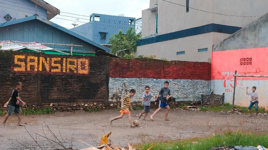 San Siro di Pinggiran Makassar yang Mendadak Viral